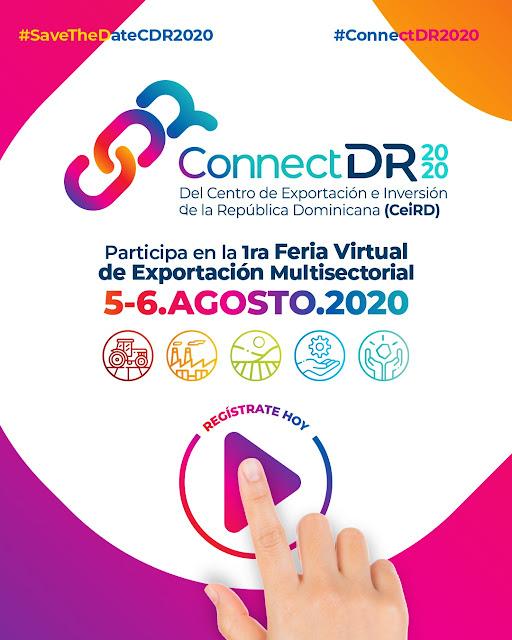 EL CEIRD CELEBRA LA PRIMERA FERIA VIRTUAL DE EXPORTACIÓN CONNECTDR2020