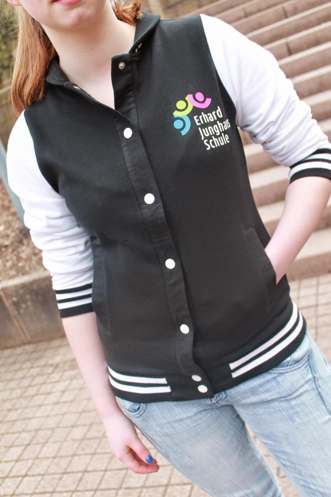 Blog EJS Design: Schul T shirts, Pullovers und College Jacken