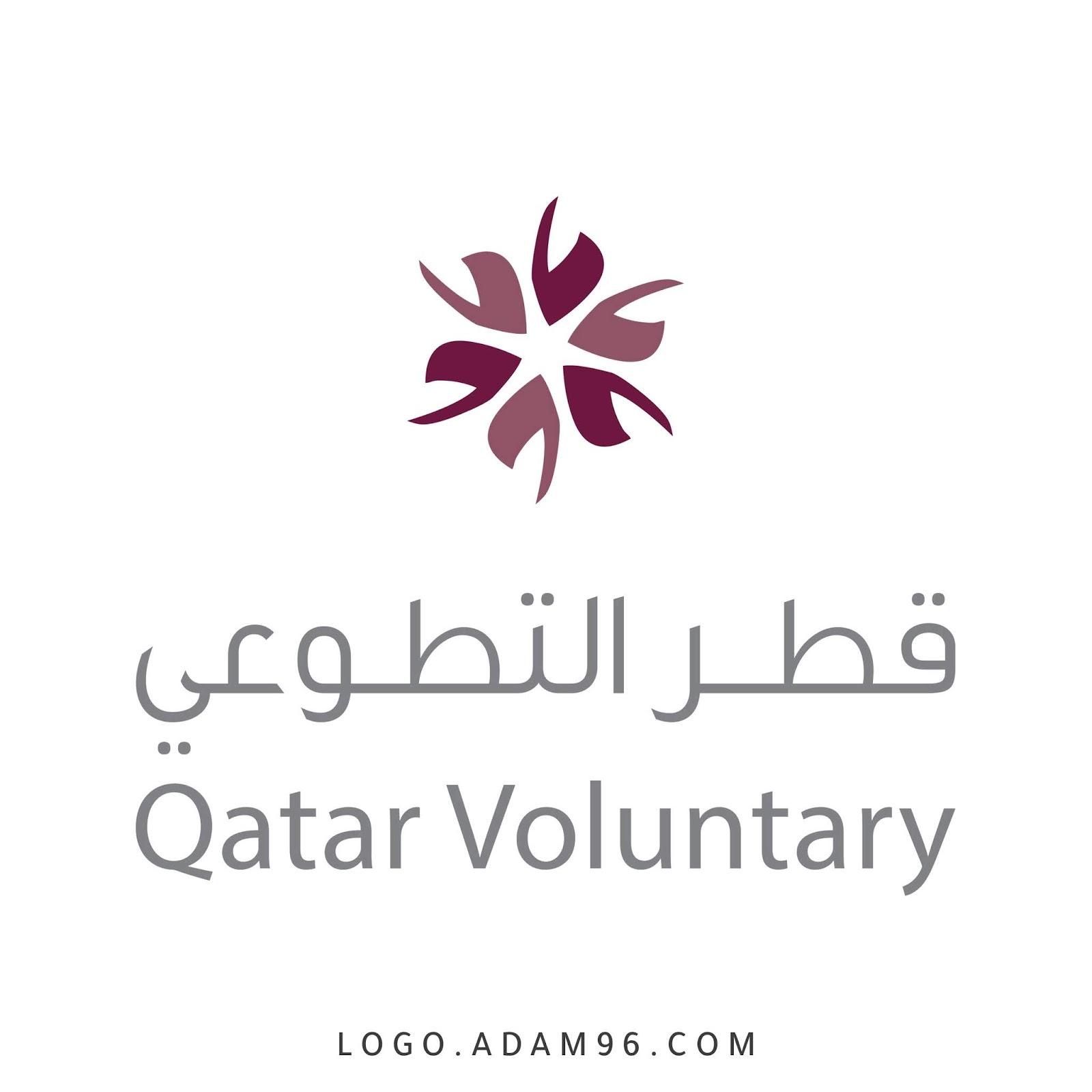 تحميل شعار قطر التطوعي - qatar voluntary png