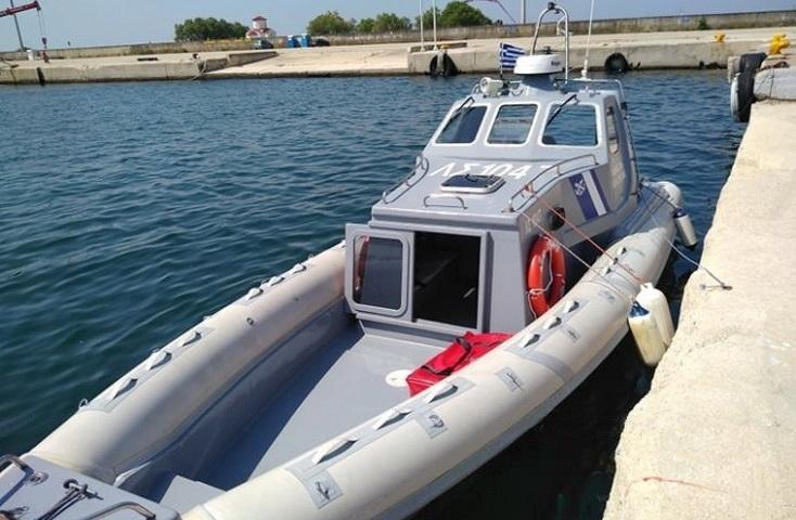 Νέο σκάφος του Λιμενικού Σώματος στην Αλεξανδρούπολη