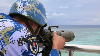 PLAN Chinese Navy Spratly