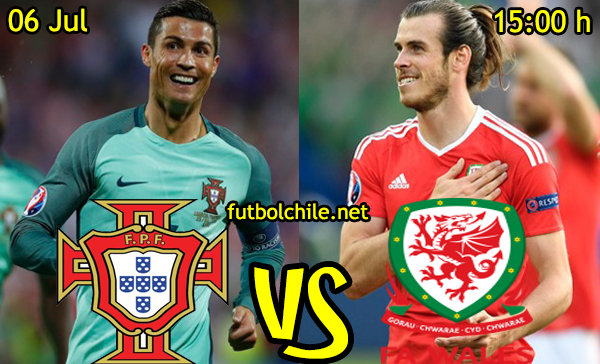 VER STREAM RESULTADO EN VIVO, ONLINE: Portugal vs Gales