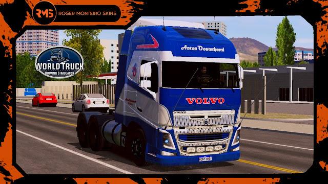 Skins Wtds, Skins World Truck, Skins Volvo FH, Volvo FH ANTON OOSTERHEERD
