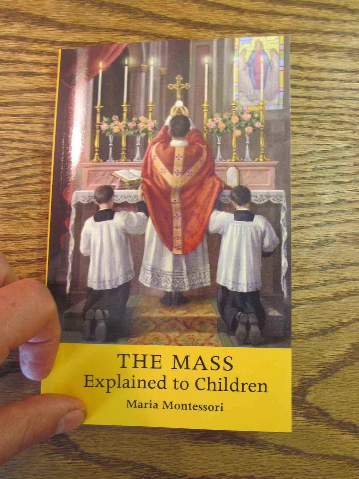 Turning to the reprint of a 1933 classic, The Mass Explained to Children, I  doubt that Maria Montessori needs an introduction to readers here.