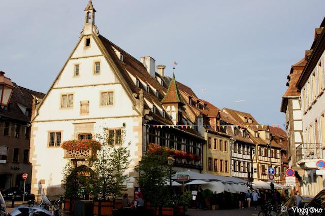 Il bel centro storico di Obernai