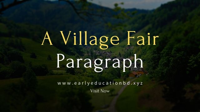 Short Paragraph on a Village Fair Updated in 2020   EEB