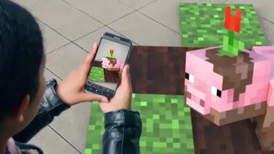 مايكروسوفت تكشف عن لعبة Minecraft Go بالواقع المعزز (فيديو)