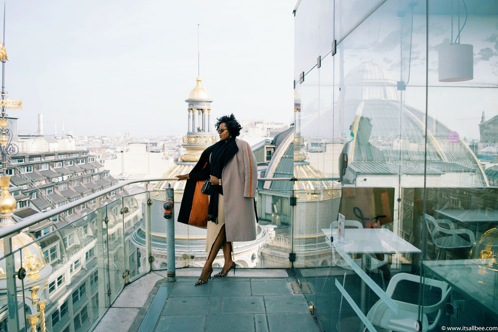 Le Printemps Paris Deli Cieux Printemps Rooftop Cafe Best Kept Secret In Paris