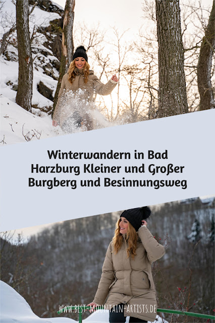 Winterwandern in Bad Harzburg | Kleiner und Großer Burgberg und Besinnungsweg | Baumschwebebahn | Wandern im Harz 32