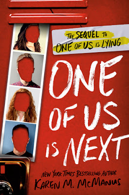 https://www.goodreads.com/book/show/44654627-one-of-us-is-next