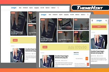 Juragan Premium Blogger Template Free Download by ThemeHint