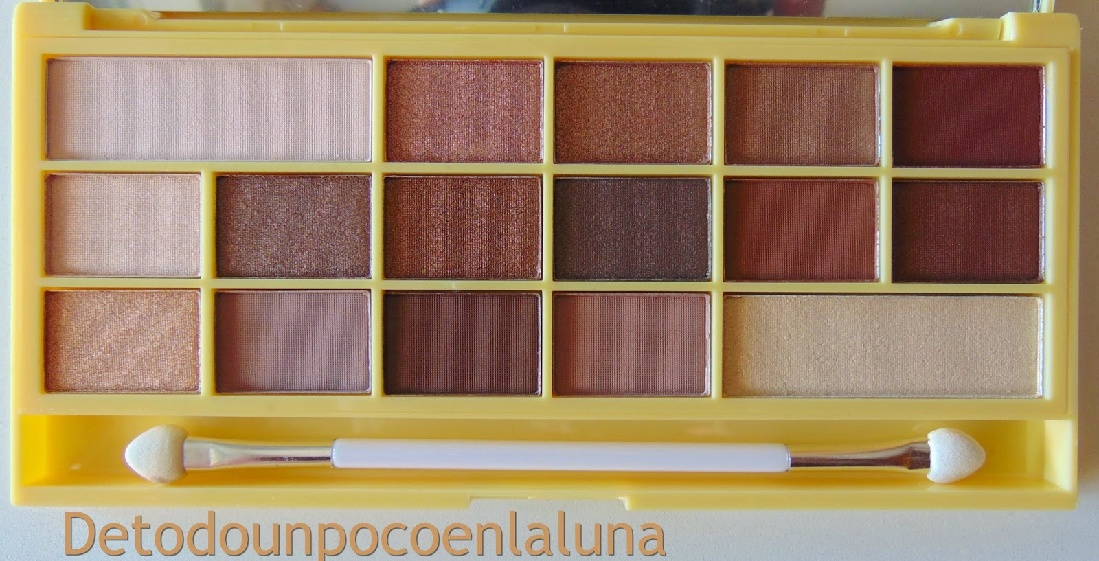 "Paleta "" Naked Chocolate ""  de I heart Makeup"