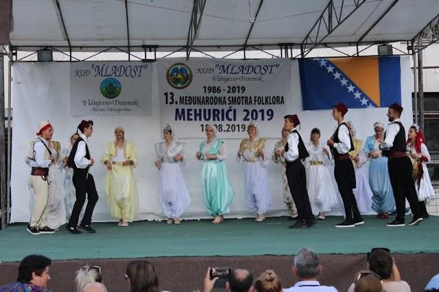 """KUD """"Plavsko jezero"""" učestvovao na festivalima folklora u BiH"""