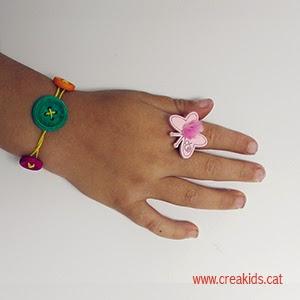 CreaKids: anillos y pulseras