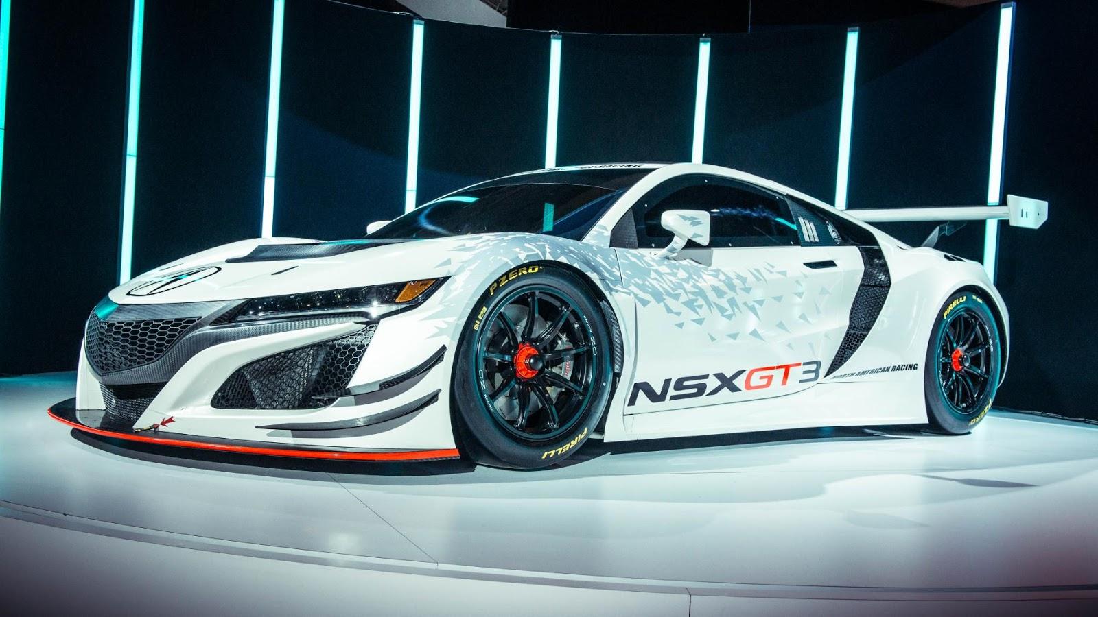 Honda NSX GT3 là ngôi sao sáng giá của New York Auto Show năm nay