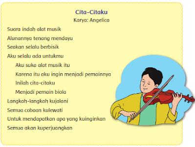 Kunci Jawaban Buku Kelas 4 SD Pembelajaran 5 Tema 6 Subtema 1