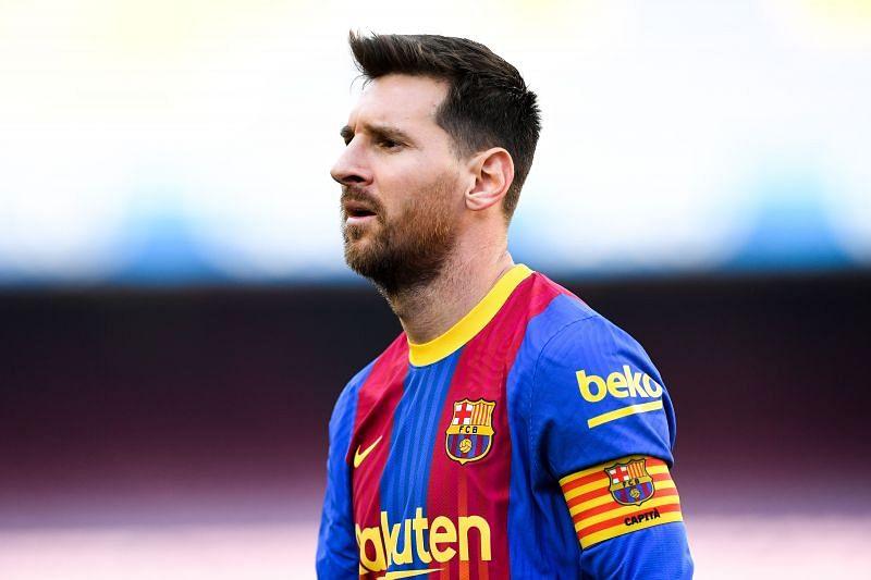 ليونيل ميسي هو برشلونة