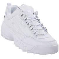 Fila Men's Disruptor II Embossed Logo Lace Up Sneakers