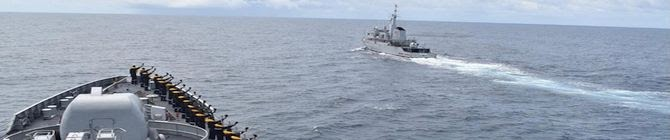 INS Talwar Participates In Post Conclusion of Exercise Cutlass Express 2021 In Mombasa