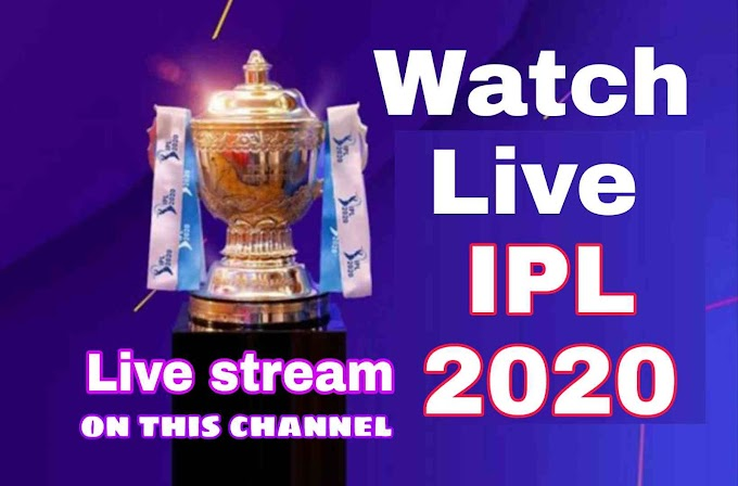 On which channel IPL 2020 live telecast channel list