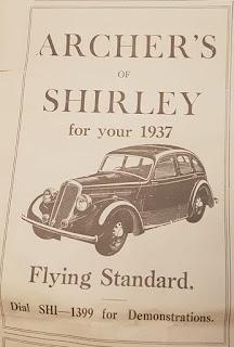 Archers Standard advert 1937