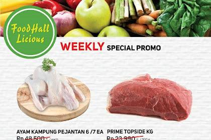 Katalog Promo Foodhall Terbaru Weekly Special