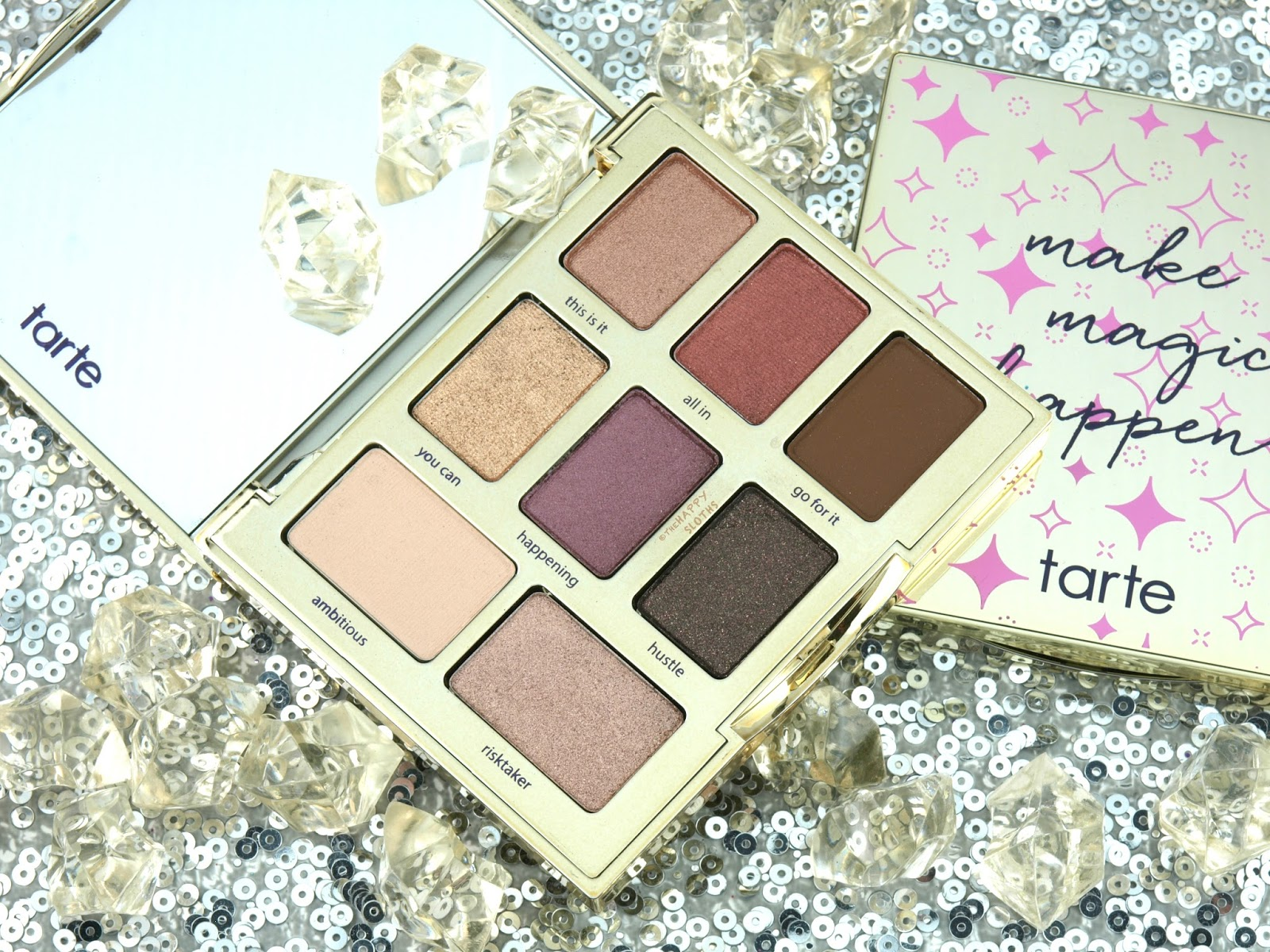 Tarte Dream Big Amazonian Clay Eyeshadow Palette: Review and Swatches