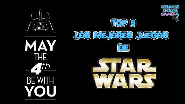 Top 5 - Los mejores juegos de Star Wars