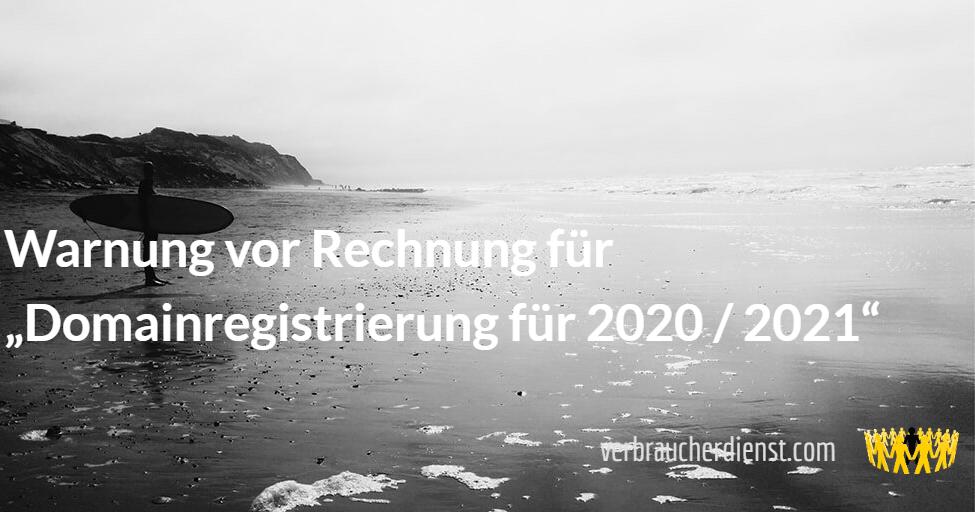 Domainregistrierung 2021 2021