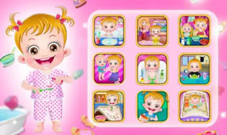 games baby hazel di android