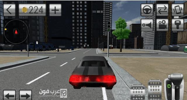 لعبة Driving car simulator