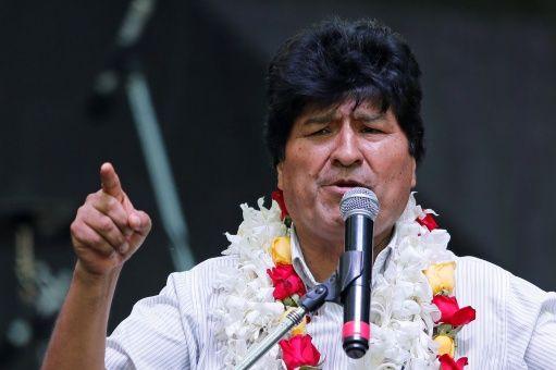 Evo Morales llama a la reconciliación en Bolivia