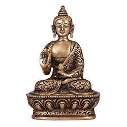 Brass Statue of Buddha Blessing