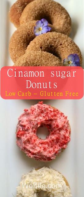 Cinamon Sugar Donuts #Low Carb #Gluten_Free