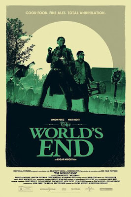 The World's End Screen Print by Matt Ferguson x Vice Press x Bottleneck Gallery