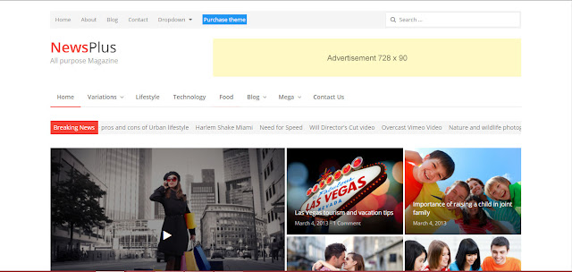 NewsPlus- Best Wordpress News Theme