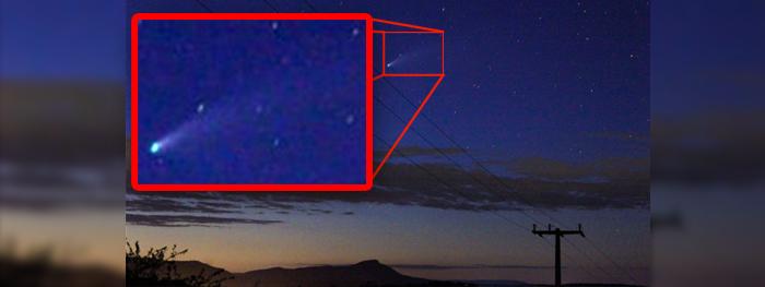fotos do cometa neowise pelo brasil - cometa c/2020 f3