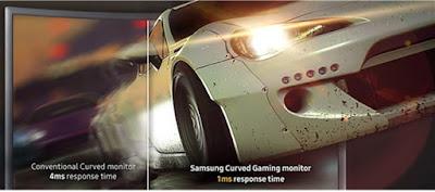 Monitor PC Gaming Samsung  27 Inch CFG70