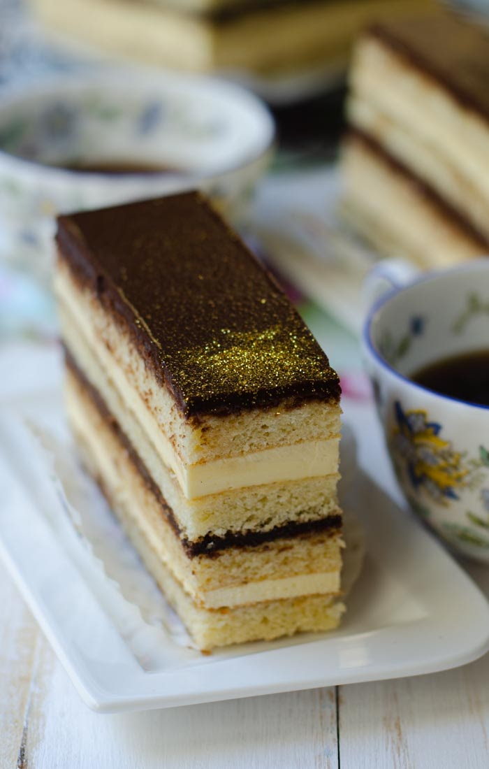 Opera cake masterchef recipe