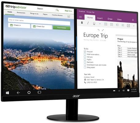 Acer SB220Q: monitor FHD de 21.5'' con tecnología IPS y marco delgado
