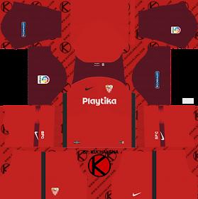 Sevilla FC 2018/19 Kit - Dream League Soccer Kits