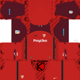 Sevilla FC 2018/19 Kit - Dream League Soccer Kits