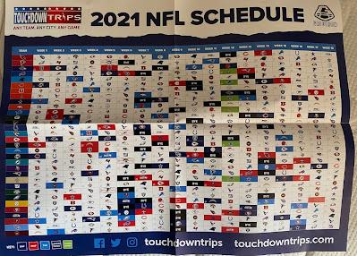 Gridiron 2021 Wall Chart