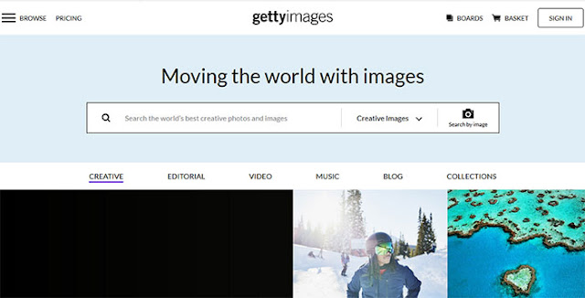 GettyImages: Most Popular Images Search Engines: eAskme