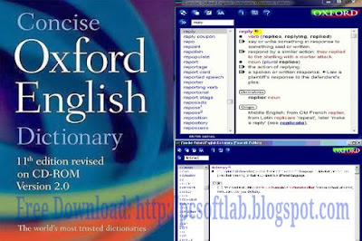 concise oxford english dictionary 13th edition free download