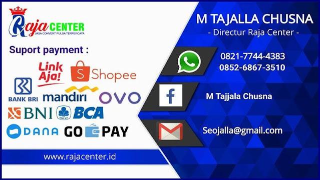 Informasi dan Metode Pembayaran di Rajacenter