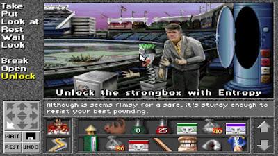 Pantallazo videojuego Superhero League of Hoboken