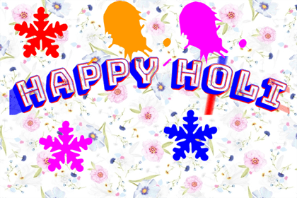 Happy Holi Wishes Images for Family