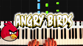 angry birds theme piano