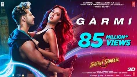 Garmi Lyrics, Badshah, Neha Kakkar, Street dancer 3D